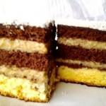 Tejszínes kávékrémes süti 1