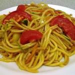 Zöldséges sonkás sült tészta 1