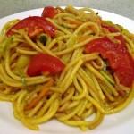 Zöldséges sonkás sült tészta 2