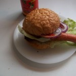 Zsemlés hot dog 2