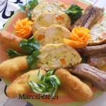 Őzgerincben sült baconos csirkemell 1