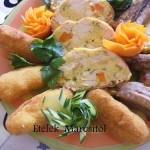 Őzgerincben sült baconos csirkemell 2