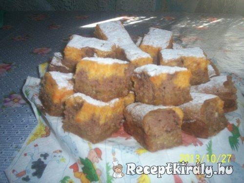 Almás sütőtökös piskóta 1