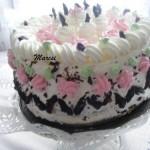 Aszalt szilvás habos torta 1