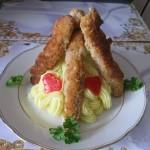 Baconeba tekert panírozott csirkemell 2