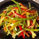 Csípős sült zöldségek 1