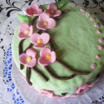 Cseresznyevirágos torta 1