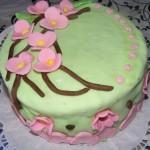Cseresznyevirágos torta 2
