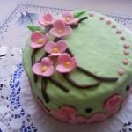 Cseresznyevirágos torta 3