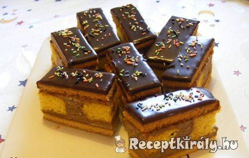 Csikos mézes sütemény