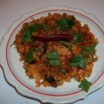 Csiperkegombás rizs 1