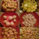 Fűszeres csirkecombok vele sült burgonyával 1