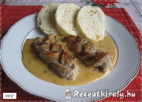 Fonott hús knédlivel 2