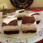 Gesztenyés tejszínes sütemény 1