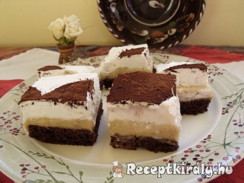 Gesztenyés tejszínes sütemény