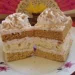 Gesztenye püré sütemény 1