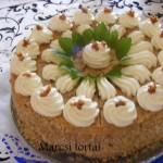 Grillázskrém torta 2
