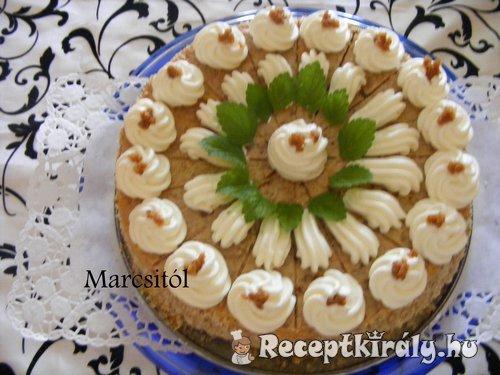 Grillázskrém torta
