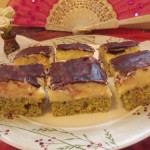 Mákos birsalma krémes sütemény 1