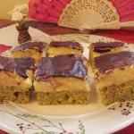 Mákos birsalma krémes sütemény