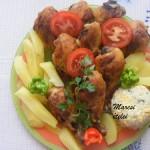 Sült csirkecombok 2