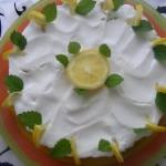 Sütés nélküli citrom torta 1