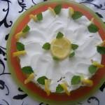 Sütés nélküli citrom torta