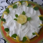 Sütés nélküli citrom torta 2