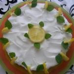 Sütés nélküli citrom torta 3