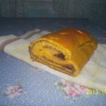 Sütőtökös kakaós csíkos kalács 2