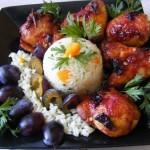 Szilvamártásban sült csirkeszárny 2