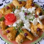 Tejfölös sült csirkeszárny 2