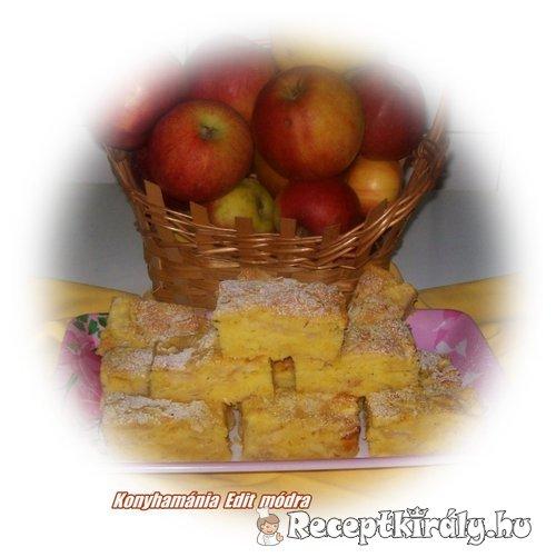 Tepsis almás egyszerűen 1