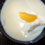 Vanília puding sárgabarack befőttel 1