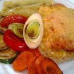 Óvári csirkemell sült zöldségekkel 1