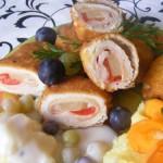 Ananászos rántott csirkemell 1