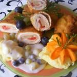 Ananászos rántott csirkemell