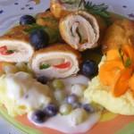 Ananászos rántott csirkemell 3