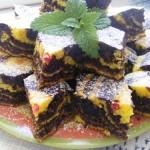 Csokis citromos zebracsikos szelet 1