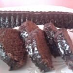 Csokis diós őzgerinc