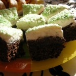 Csokis kókuszos szelet 3