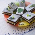 Csokis túrós szelet