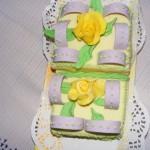 Datolyakrémes torta 1