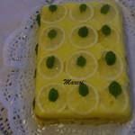 Forditott citromos torta 1
