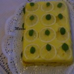 Forditott citromos torta