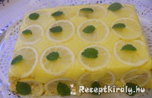Forditott citromos torta 3