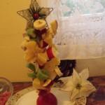 Gyümölcs karácsonyfa 2
