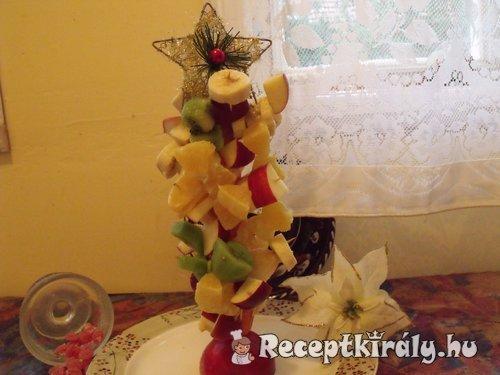 Gyümölcs karácsonyfa