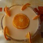 Joghurtos narancsleves