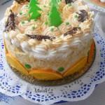 Karácsonyi narancs torta 1